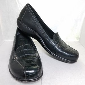 Clark's Bendales Crocodile Slip on Loafer